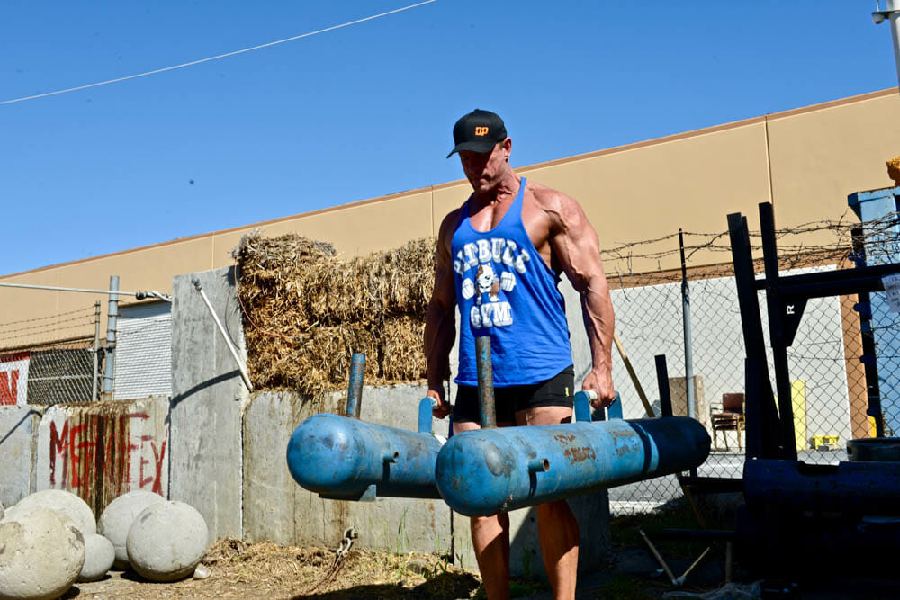 JimBrown-Lifting Heavy Logs