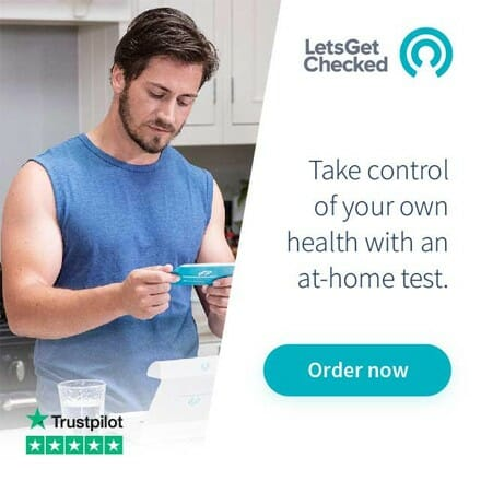 LetsGetChecked Ad